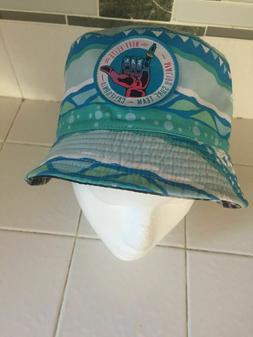 Neff Elite Surf Team Reversible Bucket Hat One Size Fits Mos