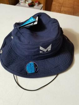 Mission Enduracool Navy Blue Khaki Colored Bucket Hat Size O
