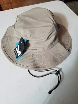 enduracool sand tan khaki colored bucket hat