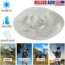 Evaporative Cooling Bucket Hat Hydro UV Protection Cooler Ar