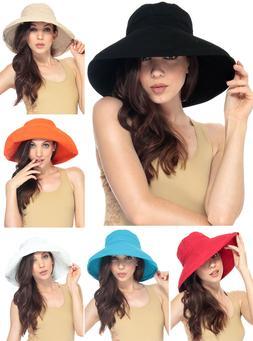 Fashion Summer Women Wide Brim Floppy Bohemia Cap Bucket Bea