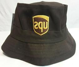 Decky Fisherman's Cap United Parcel Service Brown UPS Bucket