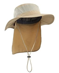 Home Prefer Mens Fishing Hat with Neck Protection UPF 50+ Su