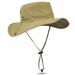 Fishing Hat Outdoor Sun Cap Camouflage Bucket Mesh Boonie