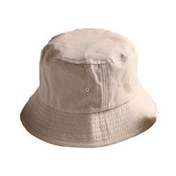 ChezAbbey Flat Top Breathable Bucket Hats Double-Sided Wear