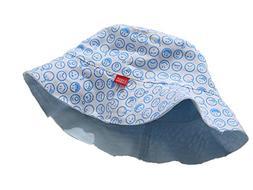 ChezAbbey Flat Top Bucket Hats Double-Sided Wear Sun Protect