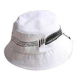 flat top bucket hats solid color sun