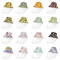 Floral Design Bucket Hats for Women Girls Summer Fashion Fac