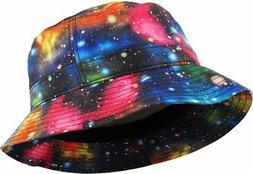KBETHOS Galaxy Bucket Hat, One Size ,  Black