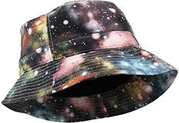 KBETHOS Galaxy Bucket Hat, One Size ,  Light Gray