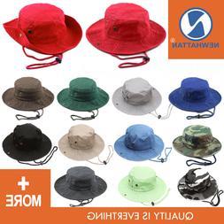 Genuine Newhattan Safari Bucket Hat 100% Cotton Fisheman Chi