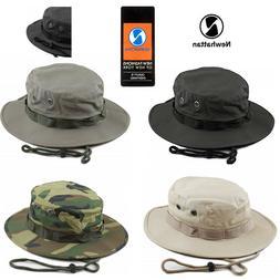 Genuine Newhattan Safari Bucket Hat 100% Cotton Fisherman Ch