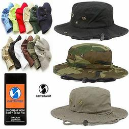 Genuine Newhattan Safari Bucket Hat 100% Cotton Fisherman Ch