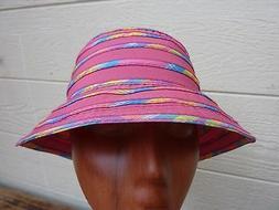 Girl's DORFMAN PACIFIC KINDERCAPS Bucket Sun Hat / Pink / On