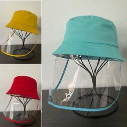 girls boys unisex stylish solid bucket hats
