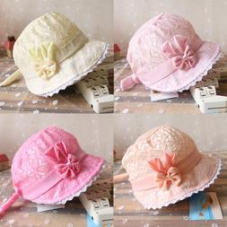 girls lace hollow hat princess baby cap
