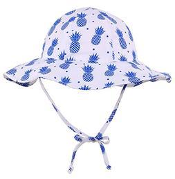 Livingston Girls Sun Protection Wide Brim Safari Bucket Hat,