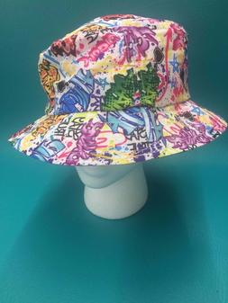 KBETHOS GRAFFITI BUCKET BOONIE HAT