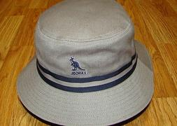 Grey  KANGOL  Stripe LaHinch  Bucket Hat  Style  K4012SP