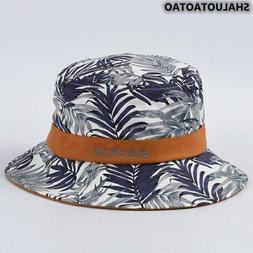 Hat Fashion Plant Printing Bucket Hats Foldable Summer New W