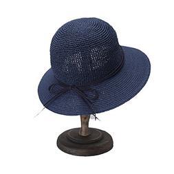 Hat Lady Elegant Bow Fisherman Hat Visor Summer Beach Hat Ou
