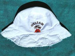 HAT New! MALIBU RUM Bucket Style Sun/Beach Hat Embroidered L
