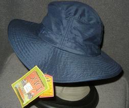 DORFMAN PACIFIC HEADWEAR ADULT LARGE NAVY BLUE SUMMER CAMP B