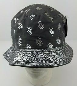 KBEthos Headwear Bucket Hat Charcoal Grey Metallic Silver Pa
