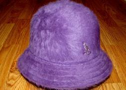 Kangol Headwear Furgora Casual Bucket Hat  Color Dark Berry