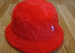 Kangol Headwear Furgora Casual Bucket Hat  Color Scarlet