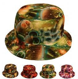 Hip Hop Galaxy Universe Boonie Bucket Fishing Sporting Hat C