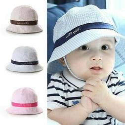 72eeb68c Hot Summer Baby Kid Sun Cap Infant Boy Girl Beach Bucket Ha