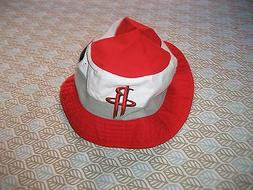 4ec61c81ee5 HOUSTON ROCKETS Bucket Cap Adidas Hat NBA RED WHITE L XL NEW