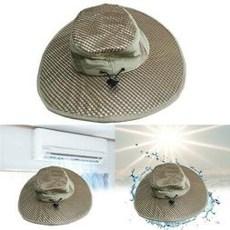 Hydro Cooling Bucket Hat Arctic Hat With UV Protection,Keeps