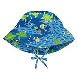 i play. Boys' Toddler Bucket Sun Protection Hat, Royal Blue