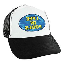 Joke Hat I Pee in Pools Hat Summer Camp Gifts Gag Gifts for