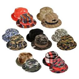 Flat Fitty Just Bucket Reversible Bucket Hat Cap - Many Colo