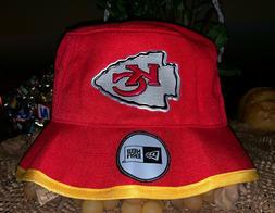Kansas City Chiefs New Era Training Camp Bucket Hat - Red