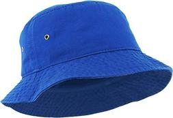 KBETHOS KB-BUCKET1 ROY Unisex 100% Washed Cotton Bucket Hat