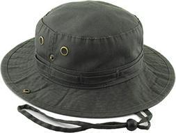 KB-BUCKET2 DGY Boonie Bucket Hat Cap Fishing Outdoor Activit