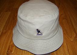 Khaki  KANGOL  Washed   Bucket  Hat  Style K4224HT
