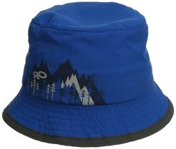 OUTDOOR RESEARCH KIDS' SOLSTICE SUN BUCKET HAT GLACIER BLUE