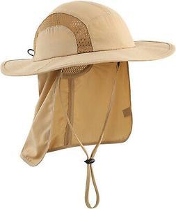 Home Prefer Kids Safari Hat UPF 50+ Sun Protective Cap Boys