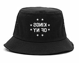 Kings Of NY KONY Stars Circle Bucket Hat Cap