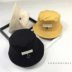 Generic Korean version of the patch letter bucket hats sprin