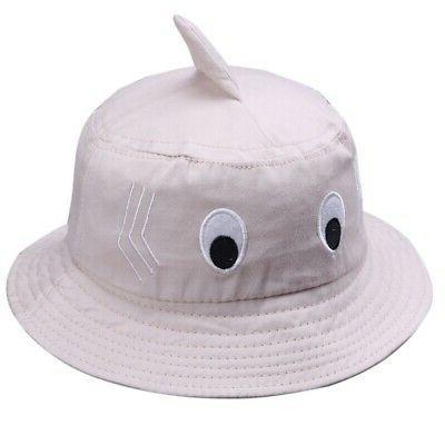 0-2T Baby Kids Boy Girl Cartoon Caps Reversible Hat
