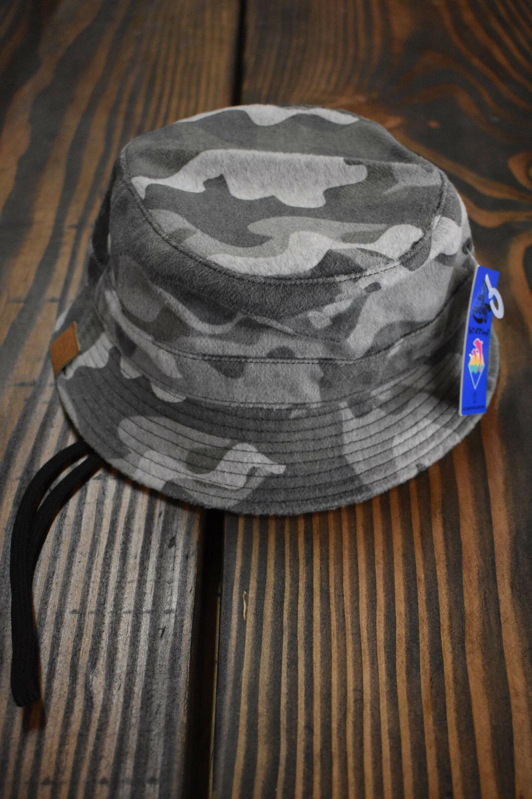 0041 men s artic camo bucket hat
