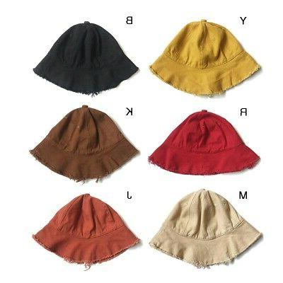Baby Boys Solid Hats Caps Reversible US