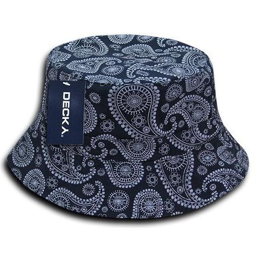 1 DECKY Bandana Hats Paisley Cotton Wholesale