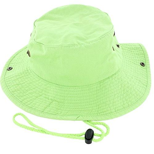 100 percent cotton boonie fishing bucket men
